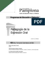Pedagogia de La Expresion Oral