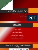 MUESTRAS QUIMICAS DIAPOSITIVAS