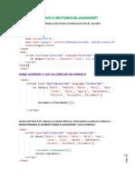 Arreglos JavaScript