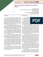 Comportamento Recente Da Fruticultura Nordestina Área, Valor Da Produção e Comercialização