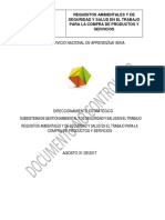 Requisitos Ambientales y de Seguridad y Salud en El Trabajo Para La Compra de Productos y Servicios