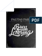 Pautas Para Un Buen Lettering