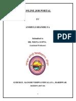Anshuli Report