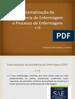 Sistematização Da Assistência de Enfermagem MADRE T.