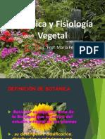 Botánica y Fisiología Vegetal