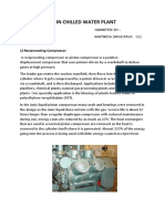 Compressors in Chilled Water Plant