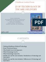 Presentation Role of Technology PDF
