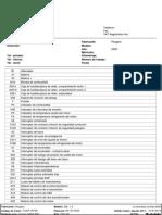 Diagrama Tablero Instrumentos Peugeot 206