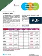 Serbia Exams Ielts 2010 Dates