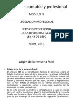 Modulo III La Revisoria Fiscal
