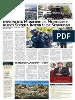 23-03-18 Implementa Municipio de Monterrey nuevo Sistema Integral de Seguridad