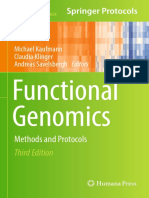 Libro_Funcional Genomics_DNA, RNA and Protein Analysis_Springer Protocols