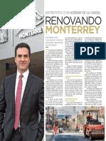 """23-03-18 Entrevista con Adrián de la Garza """"Renovando Monterrey"""""""