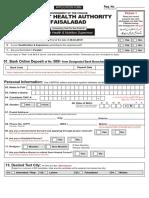 DHAFbd Form