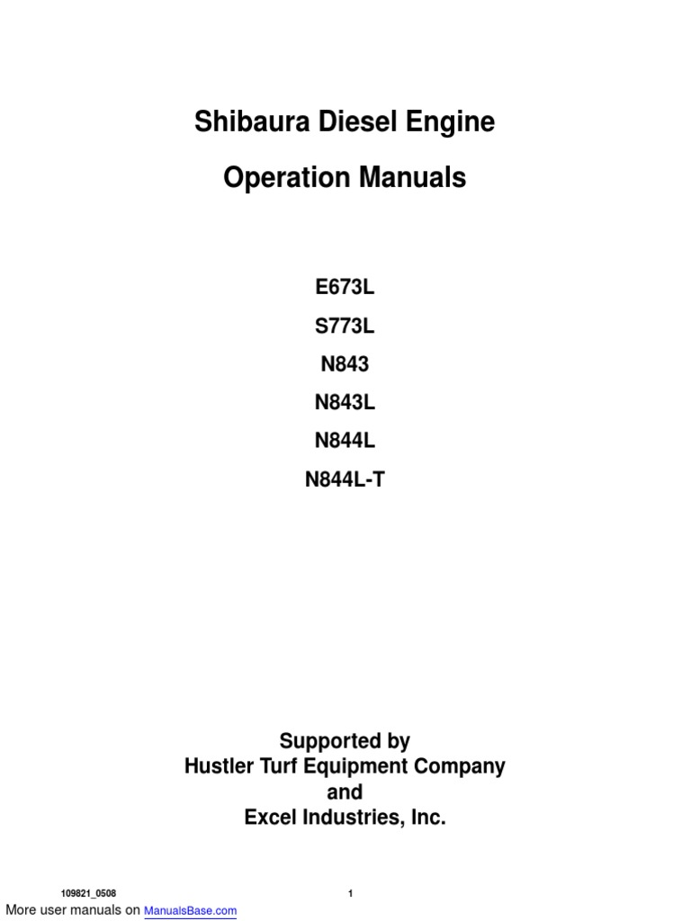 N844L-D FUEL INJECTOR FOR SHIBAURA N843-D N843L N844LT-C