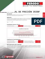 Ferodo Data Sheets 3539F