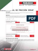 Ferodo Data Sheets 3554F