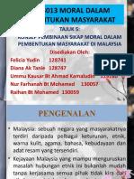 KONSEP PEMBINAAN SIKAP MORAL DALAM PEMBENTUKAN MASYARAKAT DI MALAYSIA