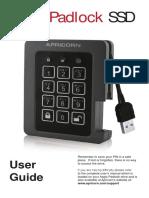 AegisPadlockSSD Manual