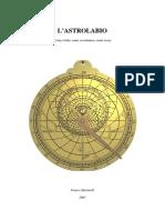 La Costruzione Di Un Astrolabio