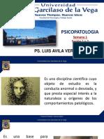 PSICOPATOLOGIA - LUIS AVILA