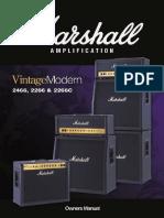 Vintage Modern 2466 2266 Handbuch