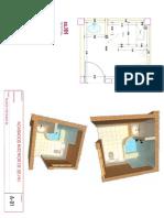 Propuesta de diseño de interiores SS.HH