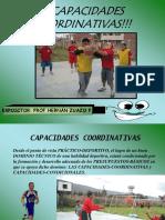 07 Capacidades Coordinativas Prof. Hernan Zuazo