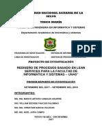 01 Infome de Lean Services