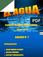 El Agua Presentacion 2015
