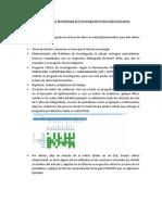 Trabajo Final Curso Metodología de la investigación UA