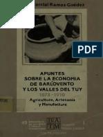Apuntes Sobre Economia de Barlovento y Los Valles Del Tuy Jose Marcial Guedez 1992.Pdf2