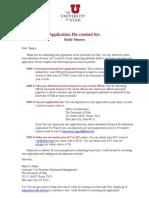 university of utah app