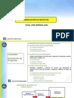 Presentación PPT - Formulación de Perfiles de Proyectos