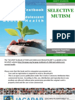 F.5 Selective Mutism Powerpoint 2016