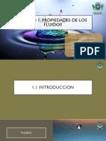 Unidad 1 Propiedades de Los Fluidos (1.1 - 1.2)
