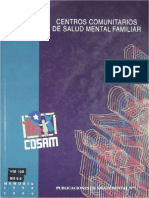 1994 Centros Comunitarios de Salud Mental Familiar Memoria 1990-1994