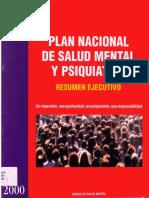 2000 Plan Nacional de Salud Mental y Psiquiatría_RESUMEN_EJECUTIVO_-_Un imperativo_ una oportunidad_un compromiso_una responsabilidad
