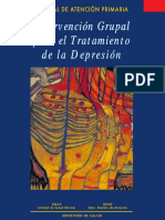 2007 Manual de Atencion Primaria Intervencion Grupal Para El Tratamiento de La Depresion