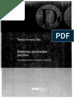 Los sistemas inquisitivos y acusatorios - Teresa Armenta Deu  | Tesseract - Cualificación en Ciencias Penales
