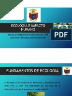 Ecología e Impacto Humano