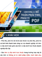 CHUONG 2 Ke Toan Phai Thu Phai Tra Noi Bo