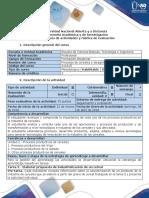 Guía de Actividades y Rúbrica de Evaluación - Tarea 3 - Elaborar Propuesta de Industrialización de Un Cereal
