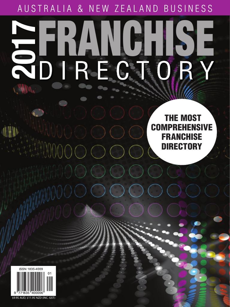 2017 Franchise Directory | Franchising | Economies