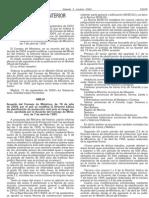 Modifica la Directriz Básica de Planificación de Protección Civil ante el riesgo Sismico