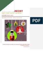 Winter Concert 2017 Program