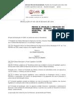 Resolução 105 2010 de Itapecerica Da Serra SP
