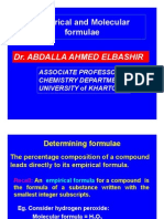 Chemical Formulas Lecture-6