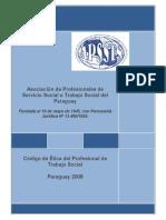 Código de Ética 18-07-2008. APSSTSPy