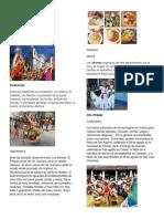 Departamentos Tradiciones y Costumbres